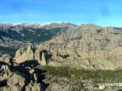 quema Turrón; El Yelmo, La Pedriza; ruta peña trevinca parque natural muniellos visitar lagunas de